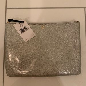 Kate Spade Mavis Street Silver Travel Accessory